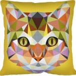 SEG de Paris Tapestry/Needlepoint – Geometric Cat