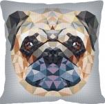 SEG de Paris Tapestry/Needlepoint – Geometric Dog