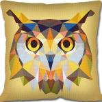 SEG de Paris Tapestry/Needlepoint – Geometric Owl