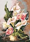 SEG de Paris Tapestry/Needlepoint – Harmony in Pink