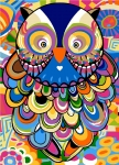 SEG de Paris Tapestry/Needlepoint – Owl (Chouette)