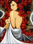 SEG de Paris Tapestry/Needlepoint – Pleats and Flowers