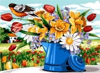 SEG de Paris Tapestry/Needlepoint – Spring Flowers