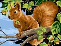 SEG de Paris Tapestry/Needlepoint – Squirrel (Les Noisettes)