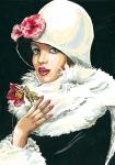 SEG de Paris Tapestry/Needlepoint Canvas – The Christmas Rose