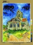 SEG de Paris Tapestry/Needlepoint – The Church of Auvers-Sur-Oise