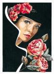 SEG de Paris Tapestry/Needlepoint – The Smell of Roses