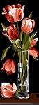 SEG de Paris Tapestry/Needlepoint – Tulips (Tulipes)