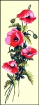 SEG de Paris Tapestry/Needlepoint  - Poppies Panel