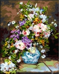 SEG de Paris Tapestry/Needlepoint Canvas – Bouquet for You