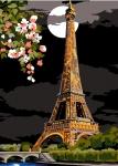 SEG de Paris Tapestry/Needlepoint Canvas – Eiffel Tower