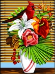 SEG de Paris Tapestry/Needlepoint Canvas – Exotic Feather