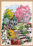 SEG de Paris Tapestry/Needlepoint Canvas – Glorious Flowers