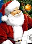 SEG de Paris Tapestry/Needlepoint Canvas – Letter for Santa