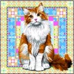 SEG de Paris Tapestry/Needlepoint Canvas – Persian Cat