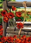 SEG de Paris Tapestry/Needlepoint Canvas – Poppy Field View