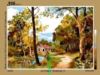 SEG de Paris Tapestry/Needlepoint Canvas – Quite Autumn