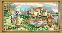 SEG de Paris Tapestry/Needlepoint Canvas – The Ferryman's Call