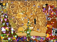 SEG de Paris Tapestry/Needlepoint Canvas – The Tree of Life after Klimt