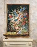 SEG de Paris Tapestry/Needlepoint Canvas – Vase of Flowers