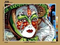 SEG de Paris Tapestry/Needlepoint Canvas – Venician Charm