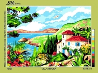 SEG de Paris Tapestry/Needlepoint Canvas – Villa Mimosa