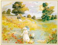 SEG de Paris Tapestry/Needlepoint Canvas – Walk in the Country