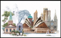 Thea Gouverneur Cross Stitch Kit - Sydney/Australia 36#