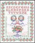 Thea Gouverneur Cross Stitch Kit - Wedding Sampler