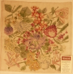 Tramme Tapestry/Needlepoint Kit – Allover design Floral Cushion Front