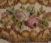 Tramme Tapestry/Needlepoint Kit – Bellpull of Roses encased in Border.