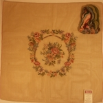 Tramme Tapestry/Needlepoint Kit – Floral Seat Cover/Back or Cushion