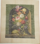 Tramme Tapestry/Needlepoint Kit – Floral Vase design suitable for Fire screen or Picture