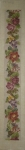 Tramme Tapestry/Needlepoint Kit – Fully Trammed Long Floral Bellpull