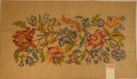 Tramme Tapestry/Needlepoint Kit – Large Floral Panel (Suitable for Bedhead)