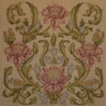 Tramme Tapestry/Needlepoint Kit – Large Pomegranate Design for Cushion or Picture