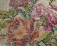 Tramme Tapestry/Needlepoint Kit – Rose Wreath with Central Motif