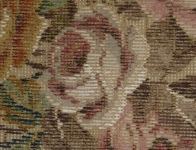 Tramme Tapestry/Needlepoint Kit – Roses Bouquet for Cushion or Picture.