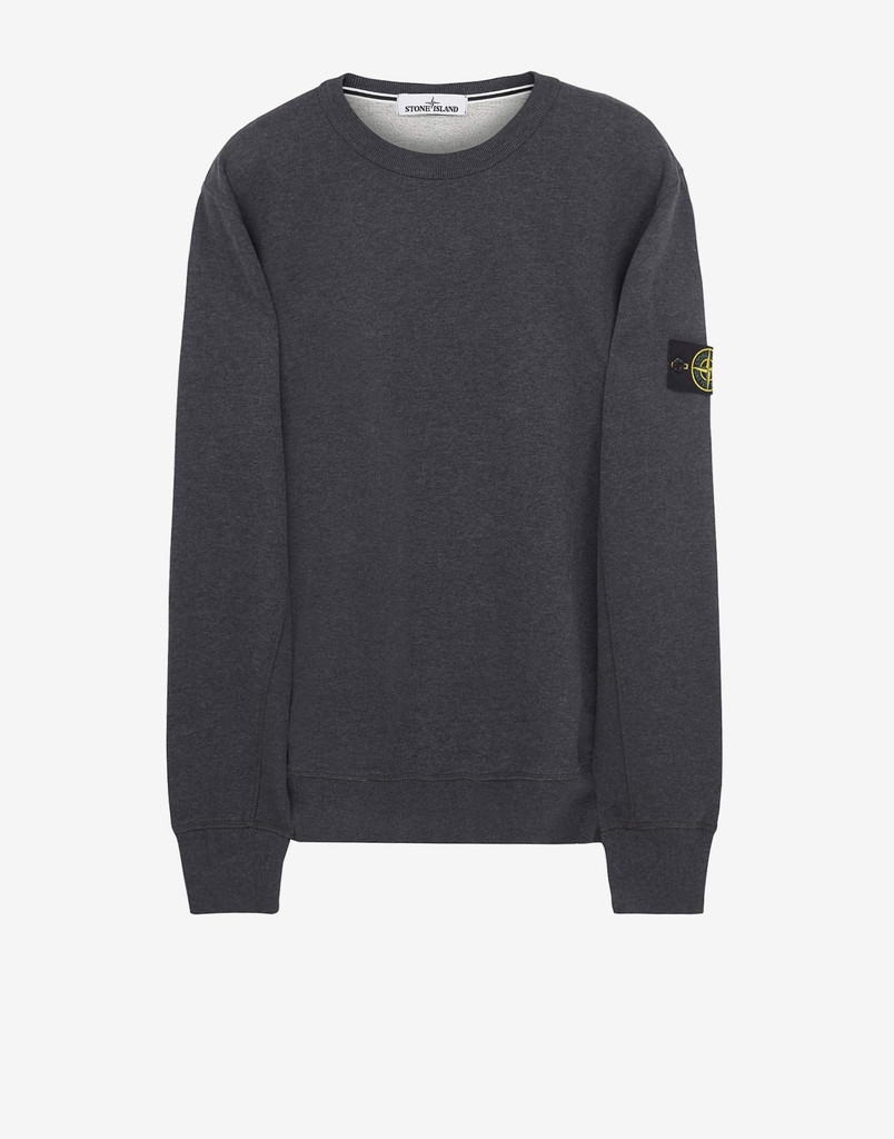 stone island garment dyed sweatshirt stone island. Black Bedroom Furniture Sets. Home Design Ideas