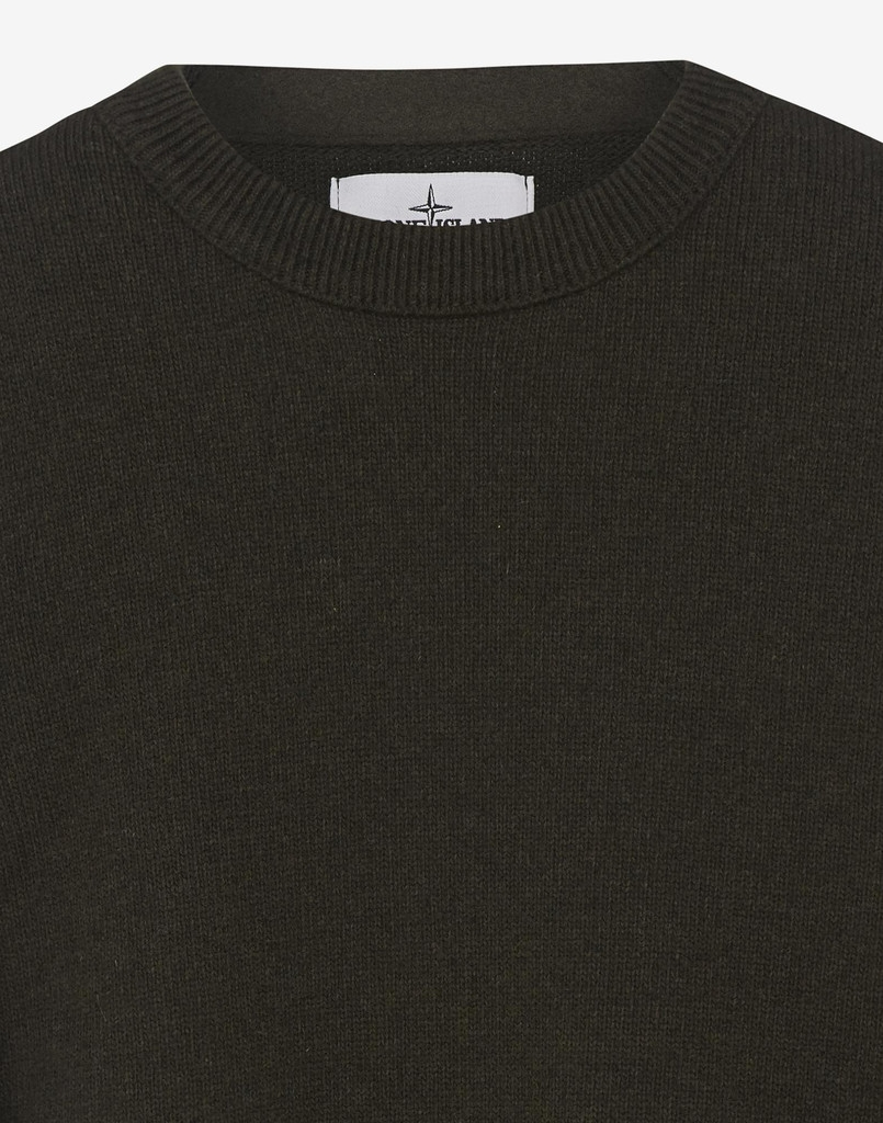 Stone Island Lambswool Crew Neck jumper - Stone Island Knitwear and ...