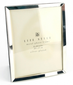 10 x 8 Silver plated Photo Frame