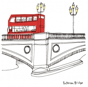 Battersea Bridge - Print