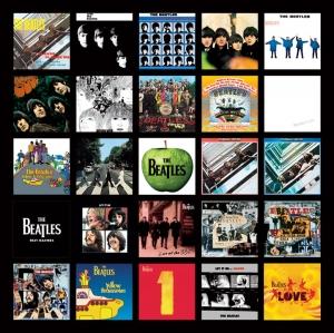 Beatles Albums - Print