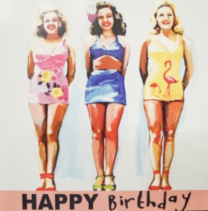Birthday Girls - Card