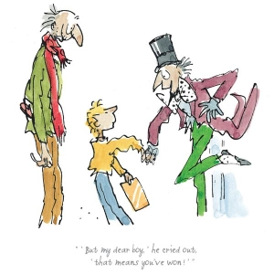 Charlie and the Chocolate Factory - Quentin Blake - Print