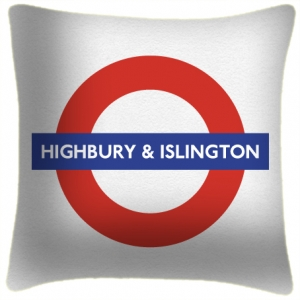 Highbury & Islington - Cushion
