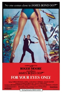 James Bond - 'For Your Eyes Only' Poster