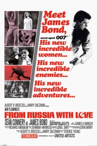 James Bond - 'From Russia With Love' Poster