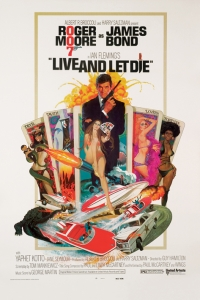 James Bond - 'Live And Let Die' Poster