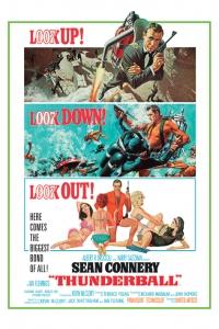 James Bond - 'Thunderball' Poster
